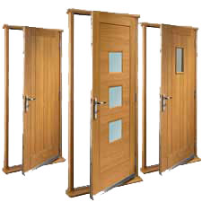 35 off Exterior Doors in Oak Hardwood External Folding doors