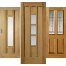 External Oak Thermal Doors