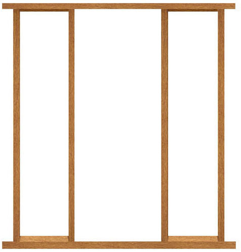 External hardwood vestuble door frame for External doors and frames
