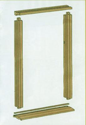 Door frame door frame exterior for Door frame kit