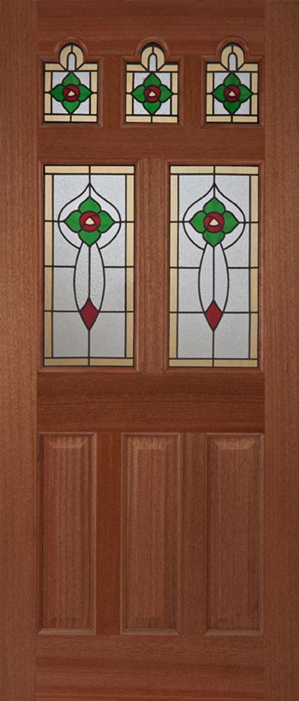 Ealing rose external hardwood door for Hardwood outside doors