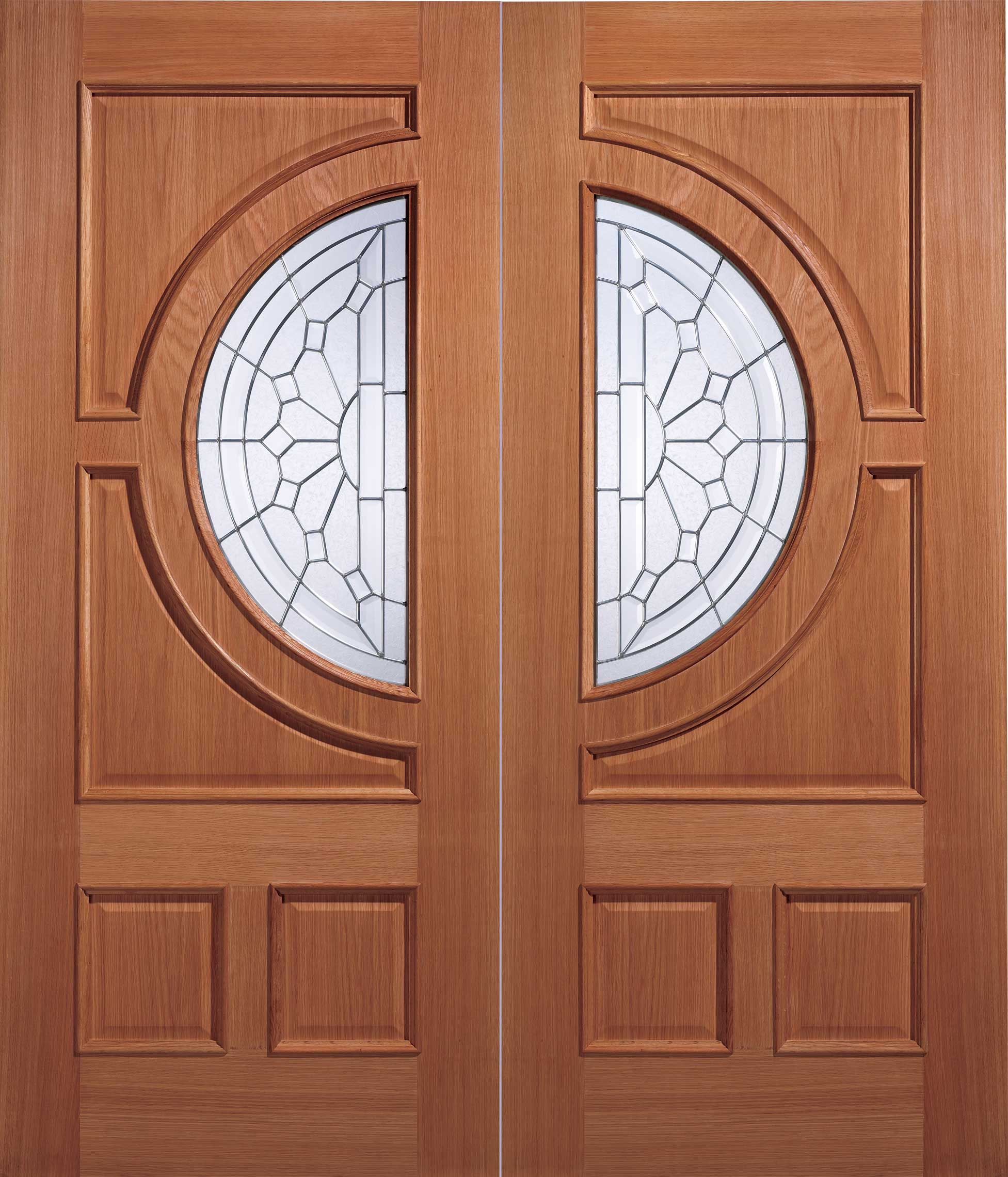 Empress glazed external hardwood door for Hardwood entrance doors