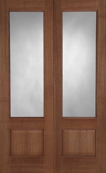 Chiswick Hardwood Door Pair