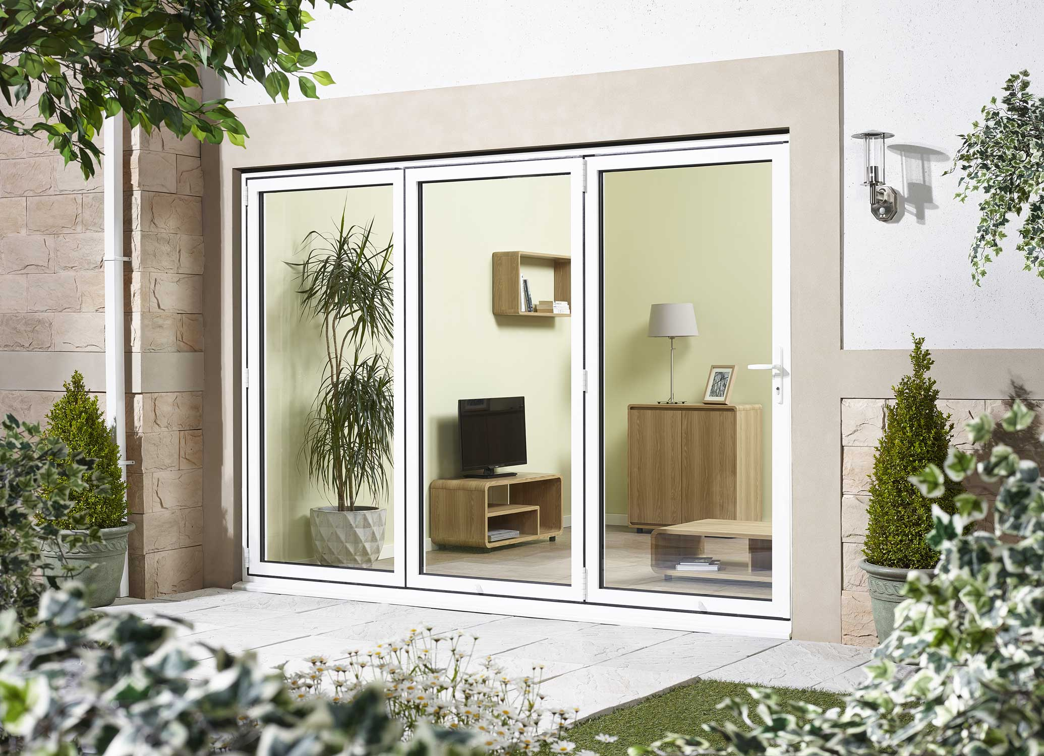 8 ft bi fold oak doors andersen folding patio doors 8 ft for 8 foot exterior french doors