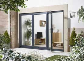 Aluminium Folding doors ... & Template