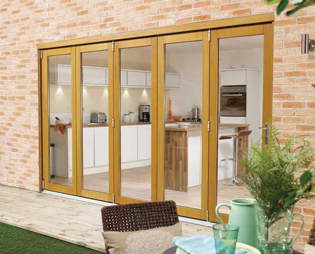 Folding Exterior Patio Doors 621 x 500