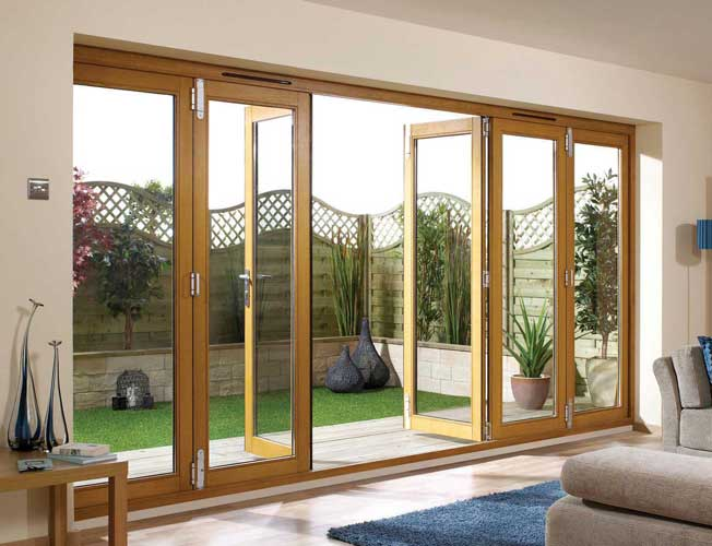 Folding doors folding doors exterior uk for Folding french doors