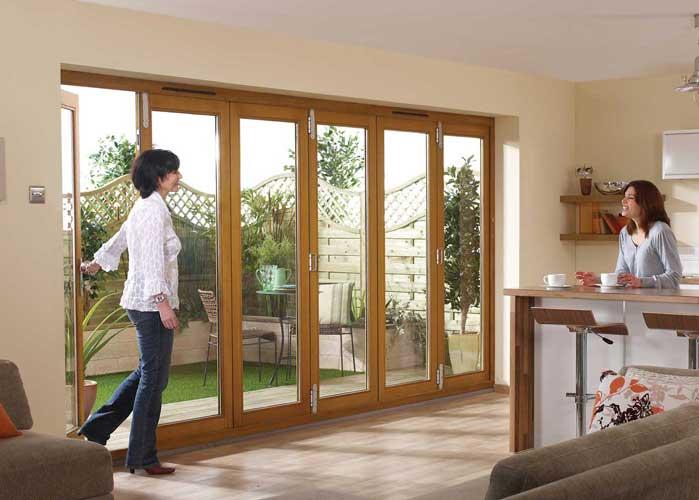 NU VU External Folding Doors