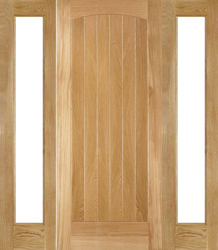 External Oak Doors With Sidelights