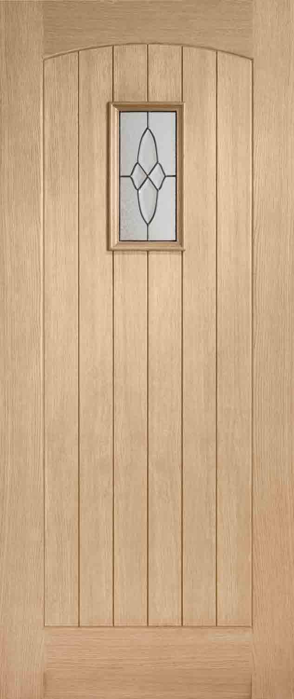 Cottage Glazed Oak External Door
