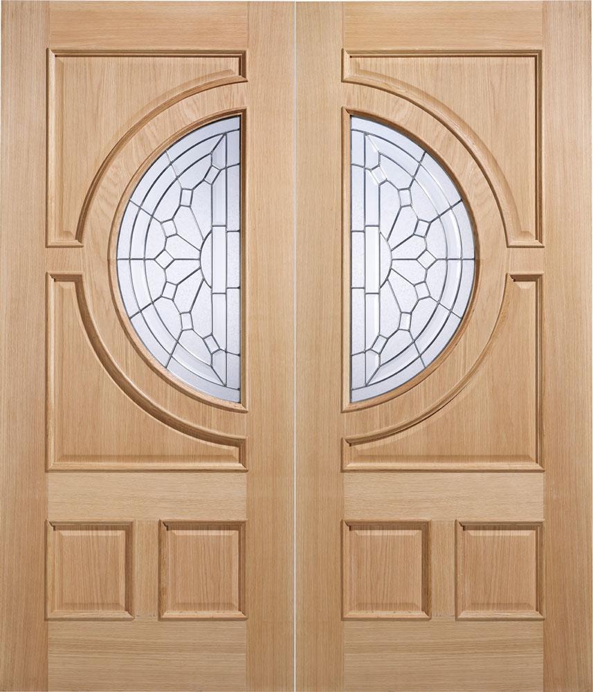 Empress External Oak Door