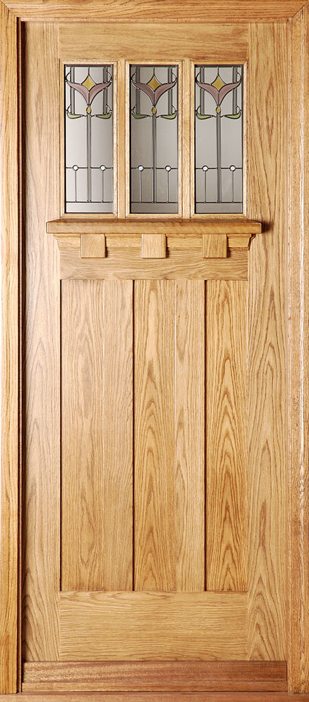 Oak Doors With Windows : Oak doors door