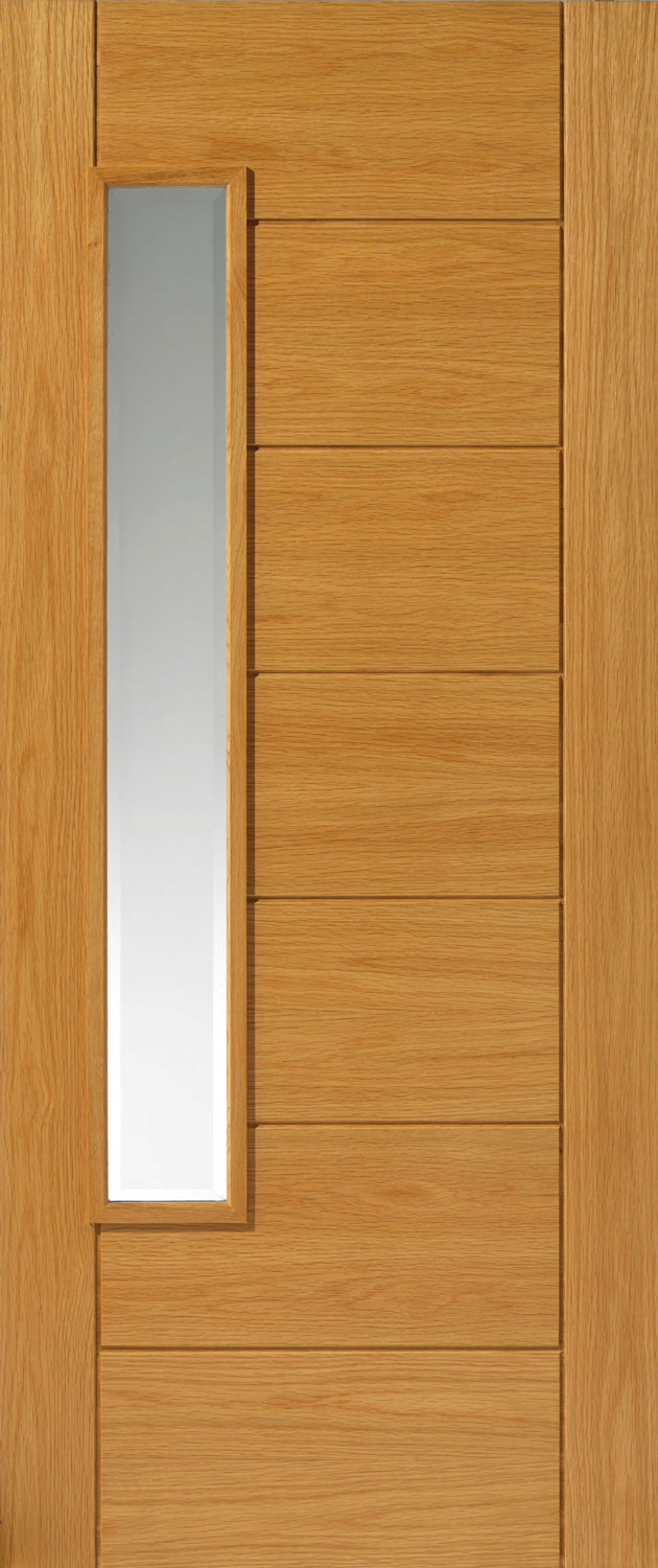 Alsace Glazed Thermal External Oak Door