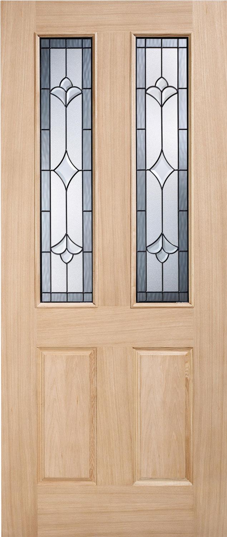 Alsace Glazed Thermal External Oak Door
