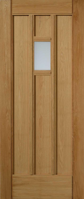 Croft Glazed Thermal External Oak Stable Door