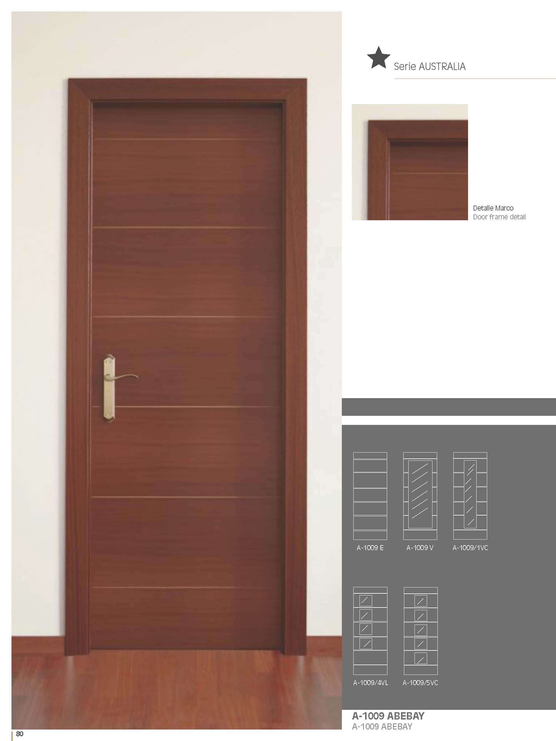 Artema A1009 Sapele Inside Door Bespoke Sizes