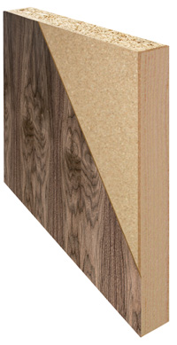 Primed white paint grade flush doors for Solid core flush door