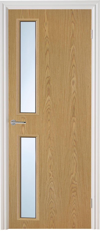 Glazed Ash Veneer Match Flush Doors