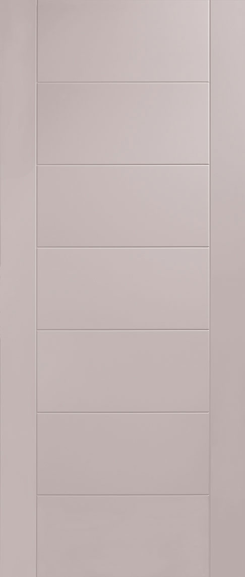 Pescara cashmere flush internal door for Solid core flush door price