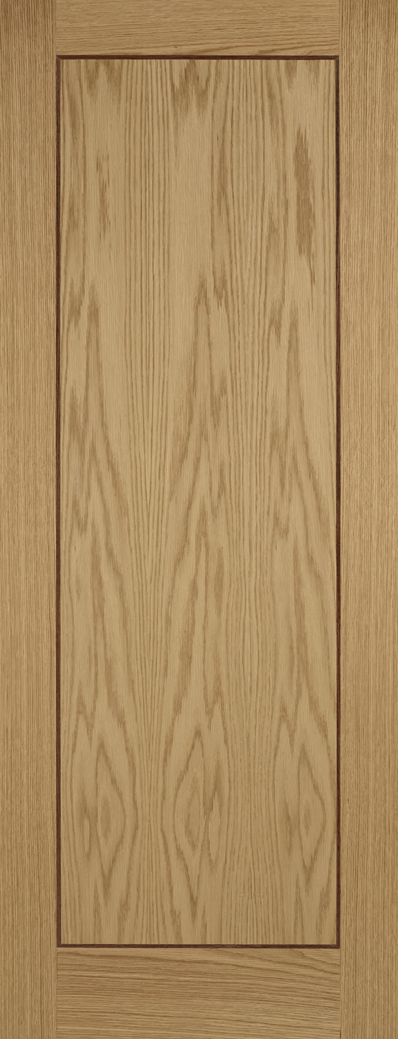 Cantona Oak Inlaid Walnut Internal Door
