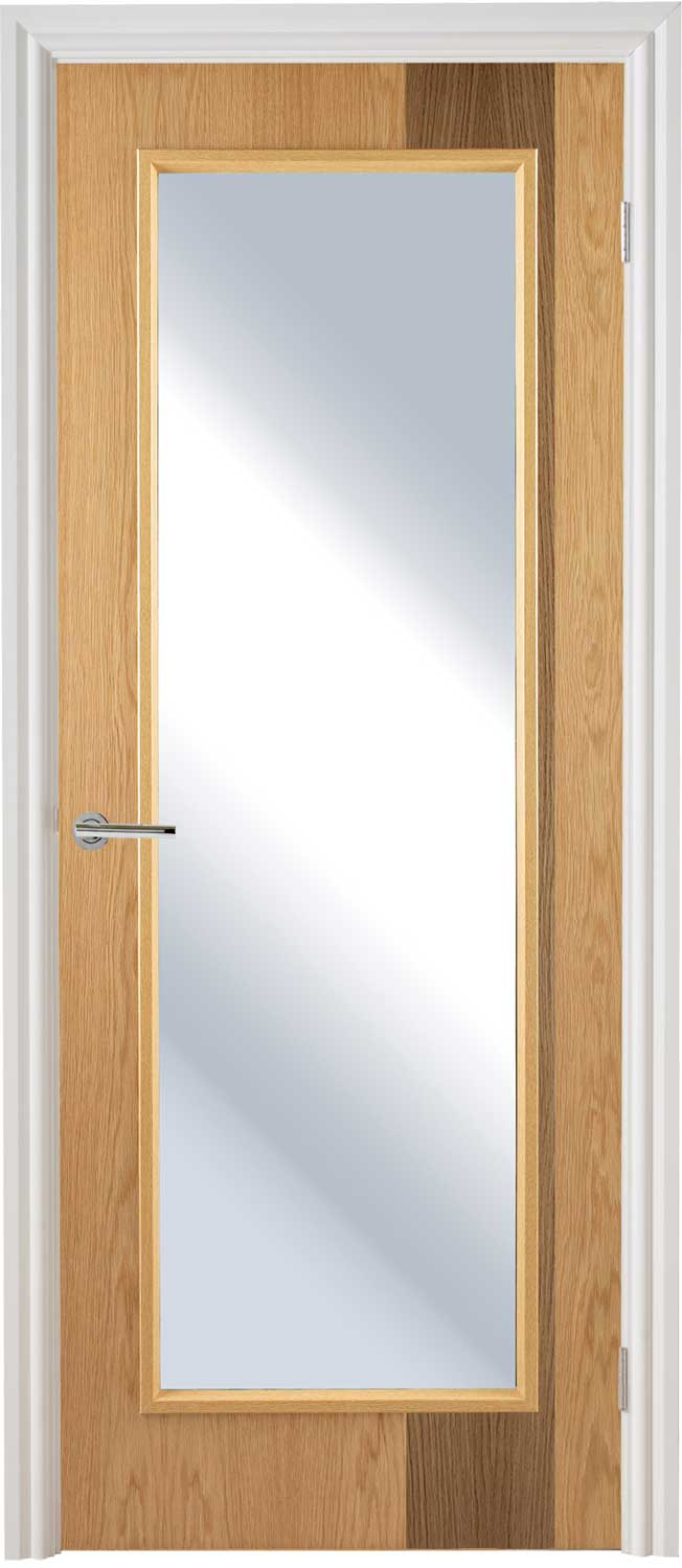 Ash innova inlaid flush door for Solid core flush door price