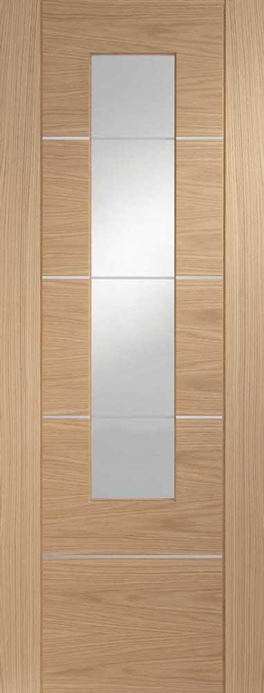 Portici Inlaid Pvc Internal Door
