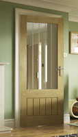thames full light oak door