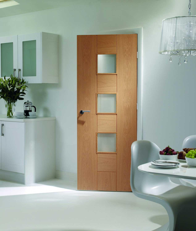 Messina Pre Finished Oak Internal Door