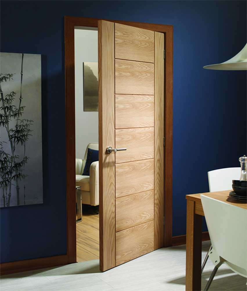 Palermo oak internal door for Doors and doors
