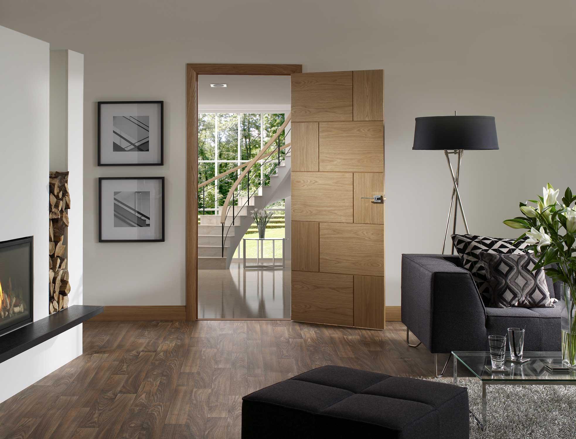 ravenna oak internal door. Black Bedroom Furniture Sets. Home Design Ideas
