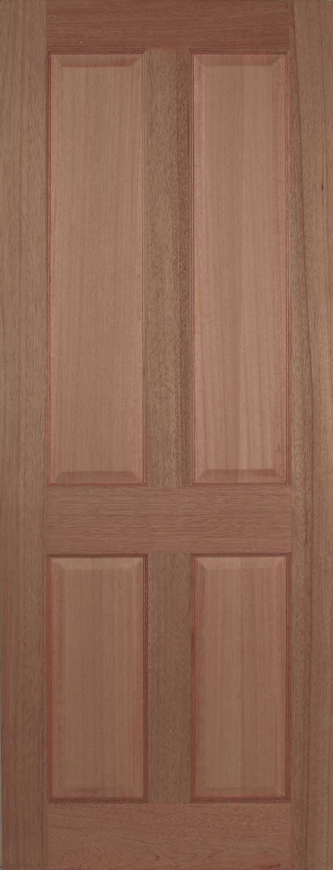 Panel Hardwood Internal Doors 575 x 1500