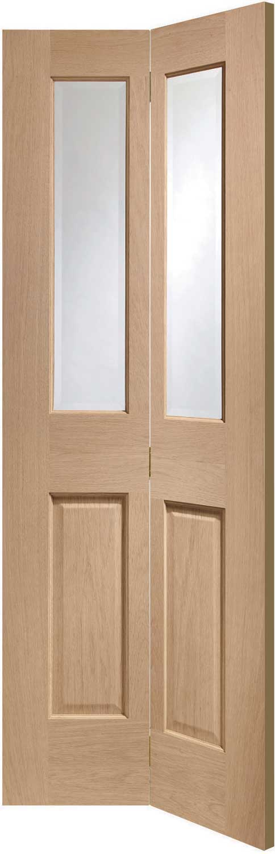 Oak Bifold Closet Doors : Malton birfolding oak internal doors