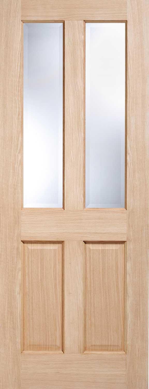 Regency 4 Panel Richmond Oak Internal Doors