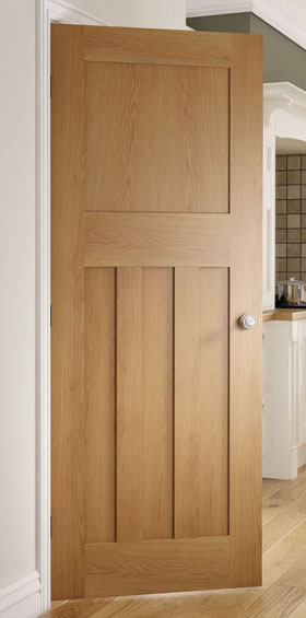 Cambridge Oak 1930 Style Internal Door