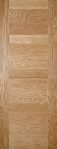 Oak Coventry Contemporary 4 Panel Internal Door