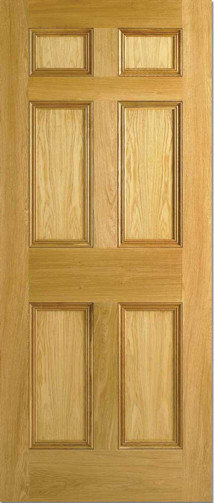 6 Panel Oak Interior Doors : Panel malton nostalgic oak internal doors