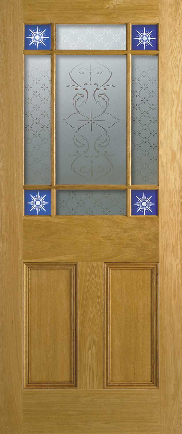 4 Panel Amp Malton Nostalgic Oak Internal Doors