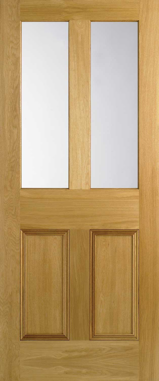 4 Panel Flat Panel Amp Malton Nostalgic Oak Internal Doors