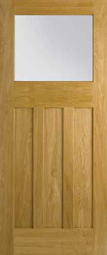 4 Panel Amp Malton Nostalgic Oak Internal Doors