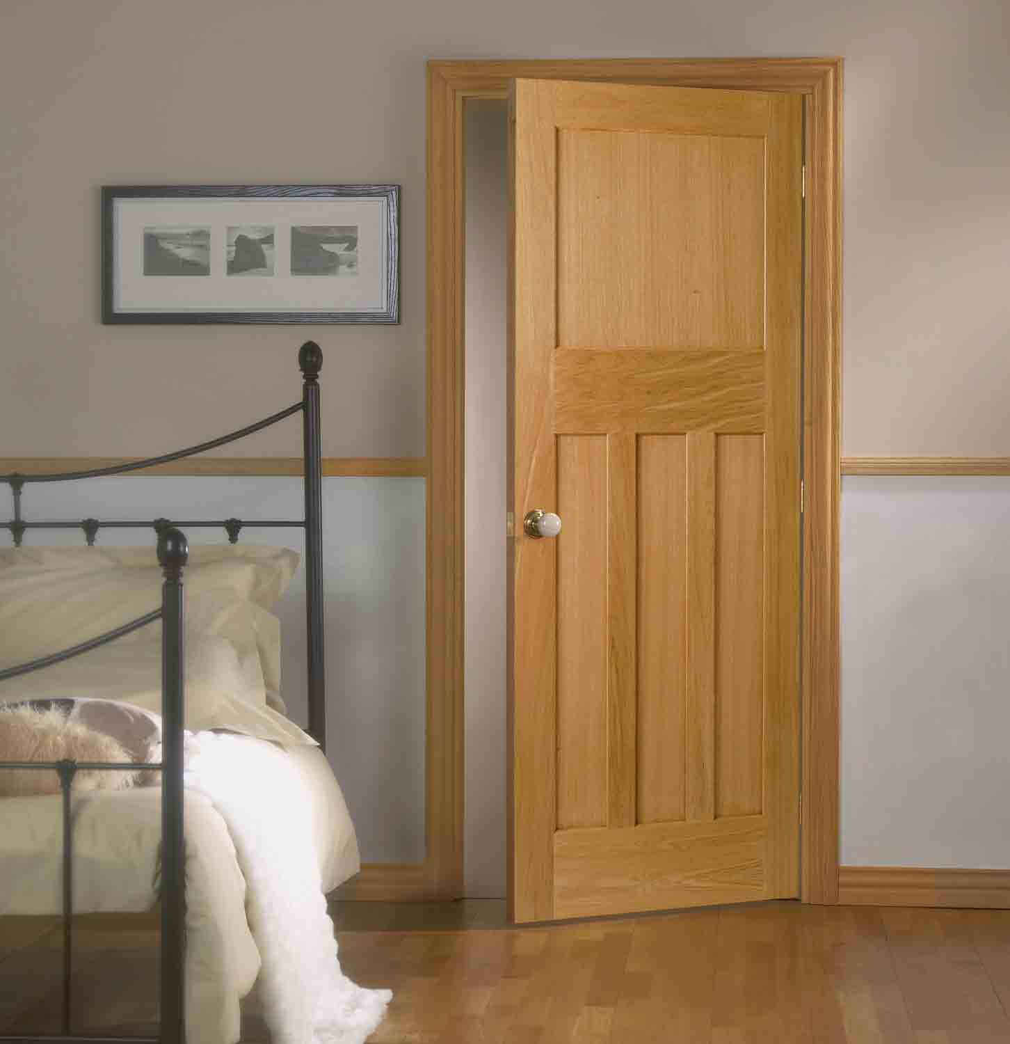 Oak interior doors for Designer interior doors uk