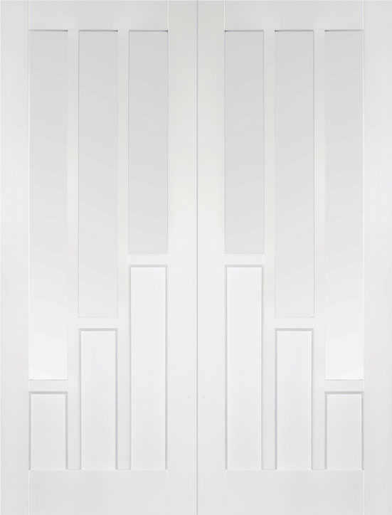 White Interior Door Pair