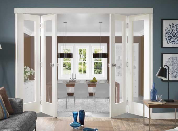 Folding doors folding doors uk interior for Interior folding doors