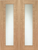 Pattern 10 pair oak doors