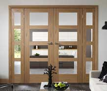 interior divider doors and sidelights