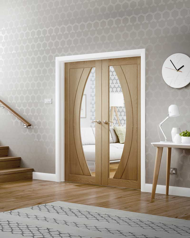 Salerno Oak Interior Door Pair