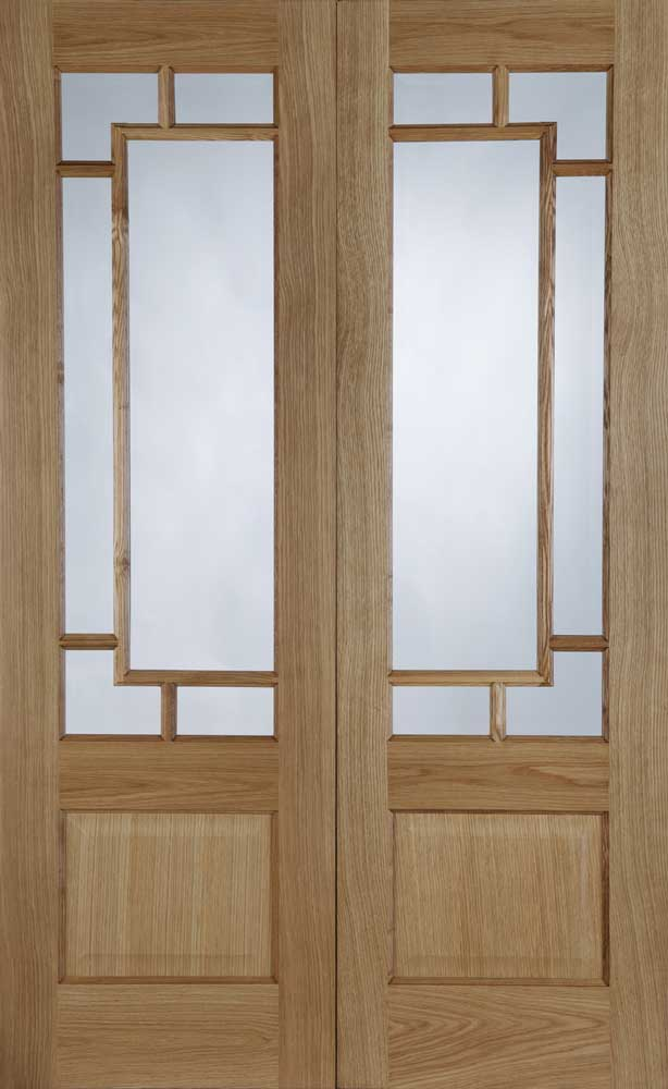 Orient Pre Finished Oak Interior Door Pair