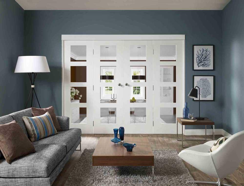 Dividing doors on pinterest folding doors internal doors and room dividers - Internal room dividing doors ...