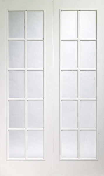 Oak Internal Door Portabello White Interior Door Pair