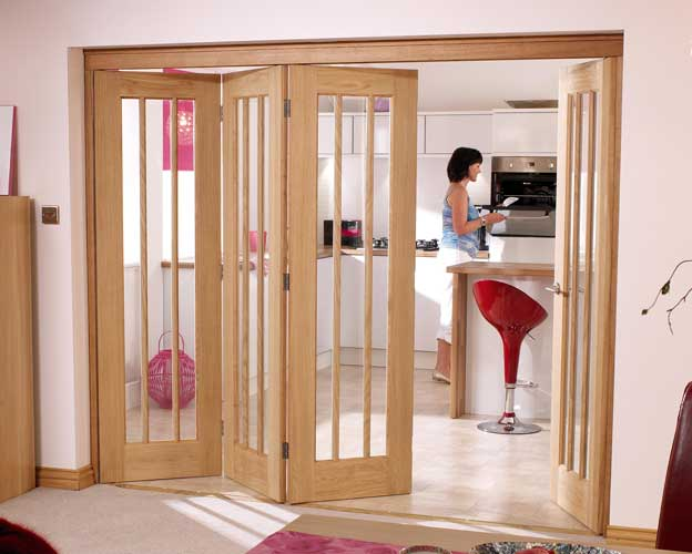 Inside folding doors for Interior sliding partition doors