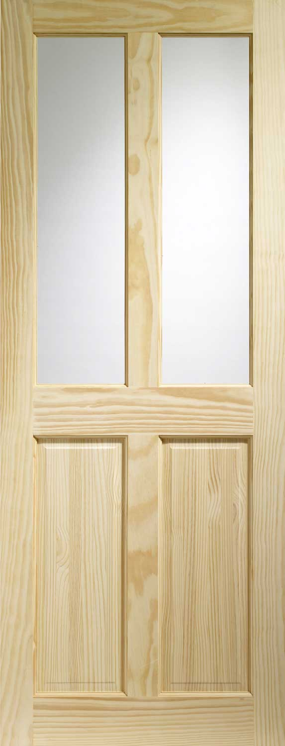 Victorian Glazed Pine Internal Doors